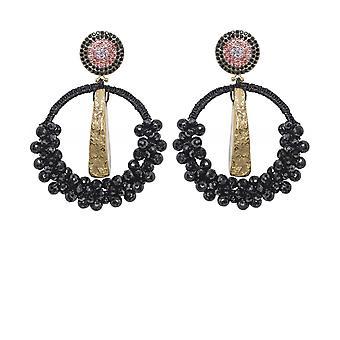 Uzurii Precious Circle Earrings