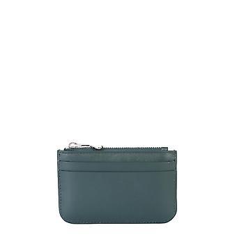 Ami A20a010803300 Männer's grüne Leder Brieftasche