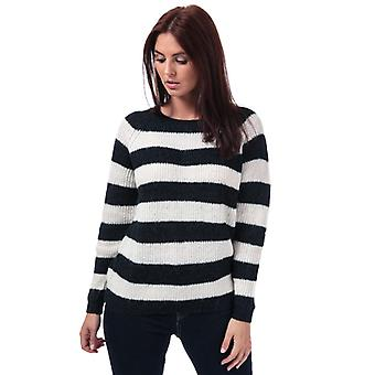 Women's Only Malone Striped Jumper in Blue