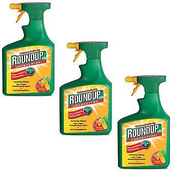 Sparset: 3 x ROUNDUP® Alphee, 1 litre