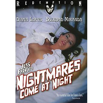 Nightmares Come at Night [DVD] USA import