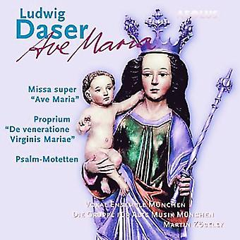 Ludwig Daser - Ludwig Daser: Ave Maria [CD] USA import