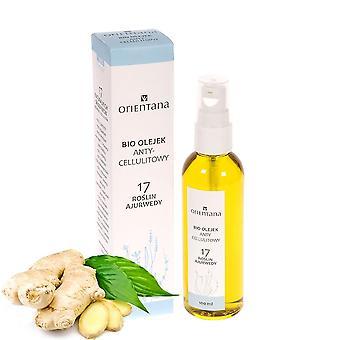 Anti-celulitídy Bio olej 17 ayurvedic bylinky, 100Ml