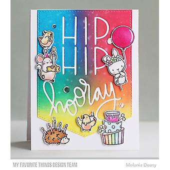 Mis cosas favoritas Hip, Hip, Hooray Die-namics