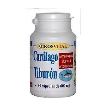 Haaienkraakbeen Plus 90 capsules van 600 mg