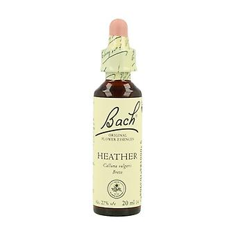 Bach Flower Essences 14 - Heather 20 ml of floral elixir