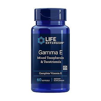 Gamma E Tocoferol / Tocotrienol 60 pérolas