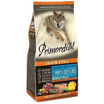 Primordial Pienso para Perro Adult Pato y Trucha (Dogs , Dog Food , Dry Food)