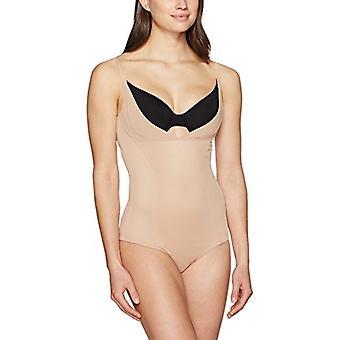 Brand - Arabella Women's Mesh Body Shaper Shapewear, Nude, X-Large