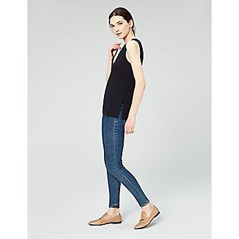 Marque - Daily Ritual Women-apos;s Jersey Sleeveless Shell Top With Side Spl...