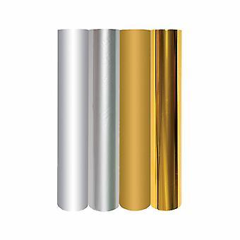 Spellbinders Glimmer Hot Foil Metallic Gold & Pacchetto Varietà d'Argento