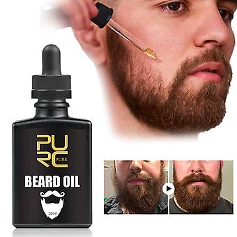 Beard Essence Oil For Nourishing & Groomed Dry Coarse Conditioner - Anti Shedding Beard Growing Serum