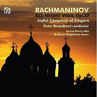 Rachmaninov/Perry/Joyful Company of Singers - All-Night Vigil Op. 37 [CD] USA import