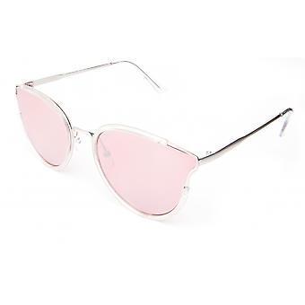 Sunglasses Unisex silver/pink