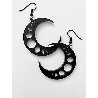 Curiology - crescent - earrings