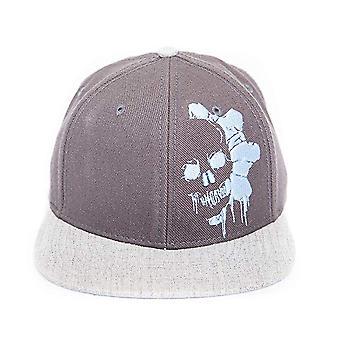 Baseball Cap - Gears of War - Ice Omen Gray Snapback Hat SB450333GOW