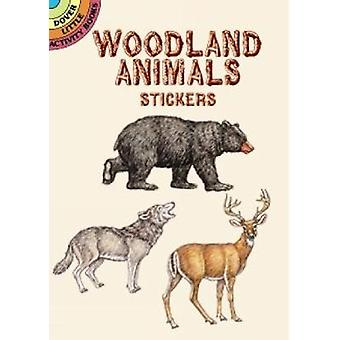 Woodland Animals Stickers by Gaspas & Dianne