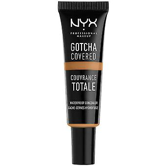 Nyx Professional Makeup Gotcha Covered Waterproof Concealer, Deep Honey, 8 ml