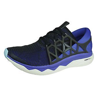 Reebok Floatride Run Flexweave Womens Running Shoes  - Black and Purple