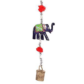 شيء مختلف شنقا الفيلة الديكور مع جرس