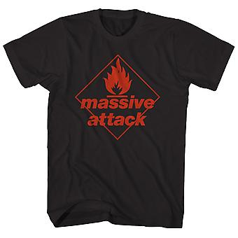 Massive Attack T Shirt Blue Lines Album Art Massive Attack Shirt