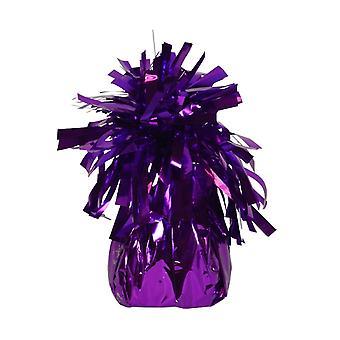 Balloon and balloon accessories  Balloon weight purple