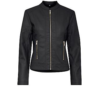 b.young Acom Black Biker Jacket