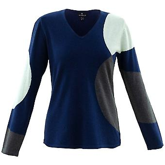 MARBLE Marble Blue Sweater 5871