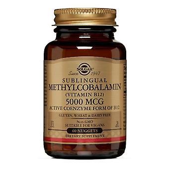 Solgar Methylcobalamin (فيتامين B12)، 5000 ميكروغرام، 60 ناغتس