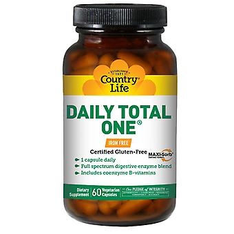 Country Life QM1 genaamd Daily Total One A Day, 60 Vcaps
