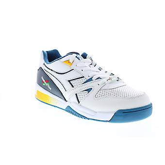 Diadora Duratech Elite  Mens White Lifestyle Sneakers Shoes
