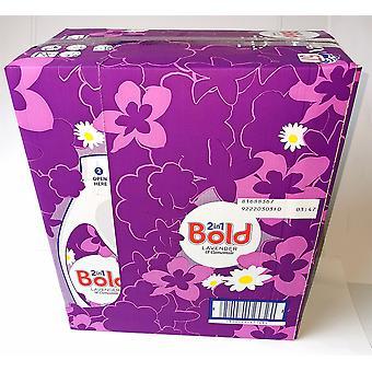 Bold 2in1 Liquid Lavender & Camomile 4 x 1995ml (7980ml in Total 228 Wash)