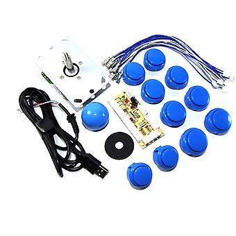 Blue DIY USB Arcade Joystick