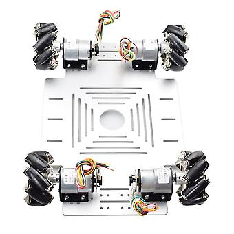 20kg Big Load Smart, Rc Mecanum Wheel Robot Car Chassis Kit- Omni Platform con