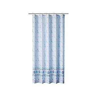 Home Label Shower Curtain Mosaic Blue 96208