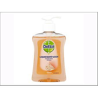 Reckitts Dettol Moisture Handwash Grapefruit 250ml