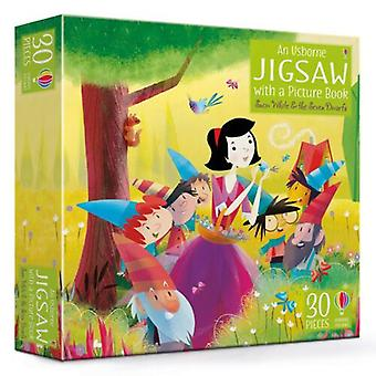 Book & Jigsaw Snow White and the Seven Dwarfs
