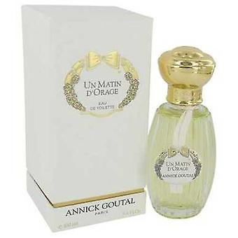 Un Matin D'orage By Annick Goutal Eau De Parfum Refillable Spray 3.4 Oz (women) V728-552114
