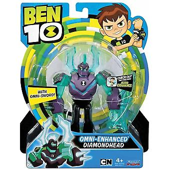 Ben 10 action figures - omni enhanced diamondhead for ages 4+