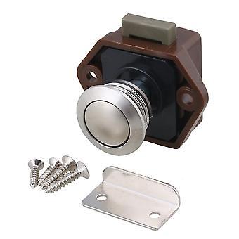 Kast 3.5CM Drukknop Keyless Vergrendeling voor RV Kast Kast Brown