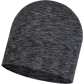 Buff Unisex Adults Midweight Merino Wool Outdoor Beanie Hat - Graphite Multi
