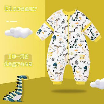 Autumn Sleeping Bag, Kids Winter Thick Warm Sleepwear For Newborn
