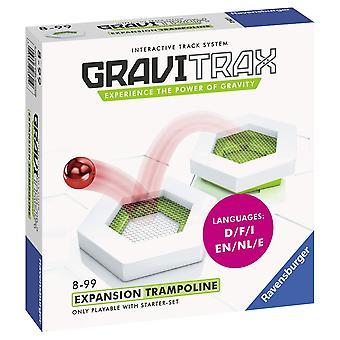 Ravensburger 4005556276219 gravitrax trampoliini lisävaruste-marmorijuoksu & rakennuslelu lapsille ikäisille