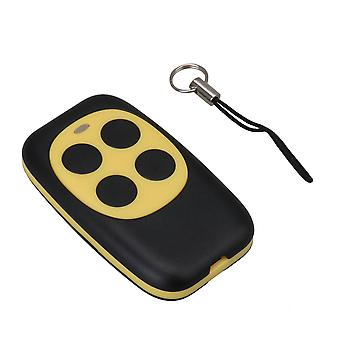 250-868MHZ Porta garage gialla Codice fisso Copia telecomando 4 canali