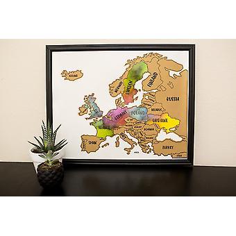 Mapa da Região Da Europa