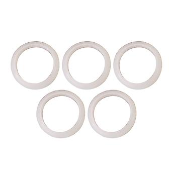 5PCS 63MM Flange Fittings Hollow Waterway Plastvarmer O-Ring Pakning