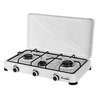 poêle à gaz COMELEC GC5113 Blanc (3 Poêles)