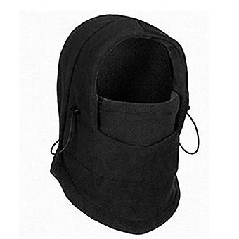 Winter Thermal Fleece And Ski Face Mask Neck Warmer Hood Hats Cap Outdoor