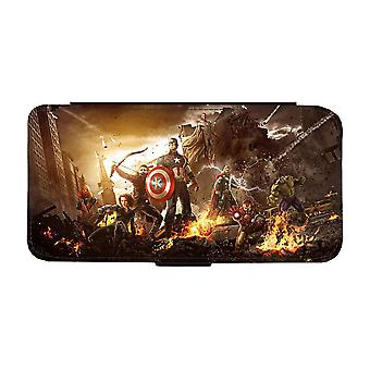 Avengers Age of Ultron iPhone 12 / iPhone 12 Pro Plånboksfodral