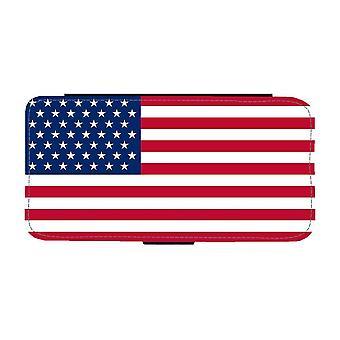 Amerikanska Flagga iPhone 12 / iPhone 12 Pro Plånboksfodral